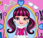 Bebek Barbie Monster High Stili